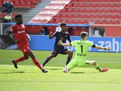 Kingsley Coman premieňa gólovú šancu