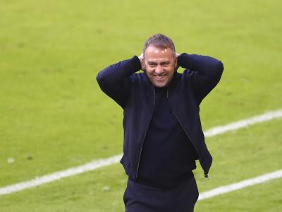 Tréner Bayernu Mníchov Hansi Flick