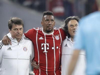 Jerome Boateng sa zranil