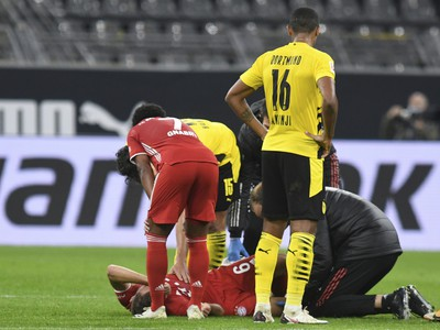 Joshua Kimmich sa zranil v derby s Dortmundom
