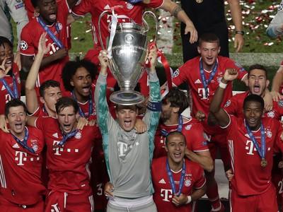 Bayern Mníchov oslavuje šiesty