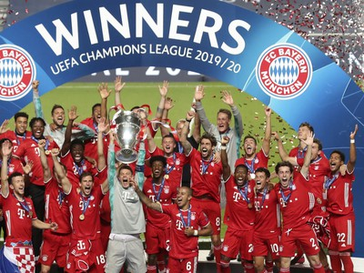 Bayern Mníchov oslavuje šiesty titul v Lige majstrov