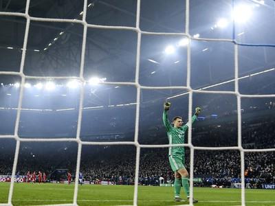 Manuel Neuer v bránke