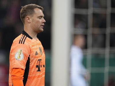Frustrovaný Manuel Neuer po