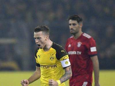 Marco Reus oslavuje gól