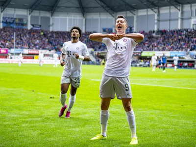 Robert Lewandowski z Bayernu Mníchov
