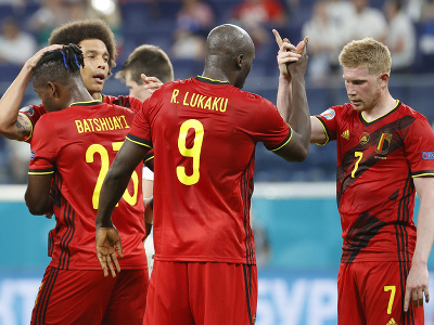 Radosť futbalistov Belgicka