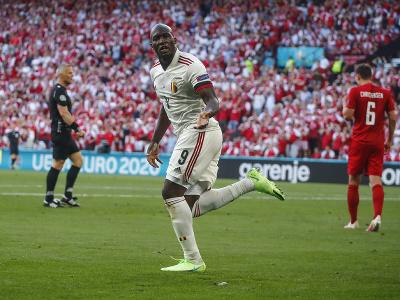 Romelu Lukaku oslavuje gól