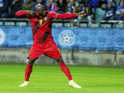 Belgický futbalista Romelu Lukaku