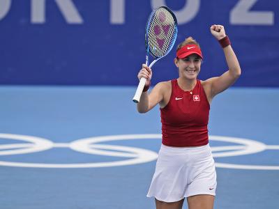 Švajčiarska tenistka Belinda Benčičová