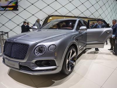 Cena nov�ho Bentley Bentayga sa pohybuje od 180 do 200-tis�c eur
