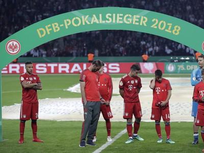 Sklamaní hráči Bayernu po