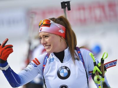 Slovenská biatlonistka Ivona Fialková