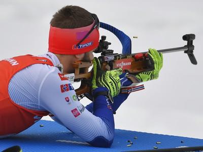 Slovenský biatlonista Šimon Bartko