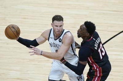 Útočník Brooklynu Nets Blake