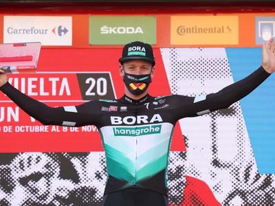 Pascal Ackermann na víťaznom