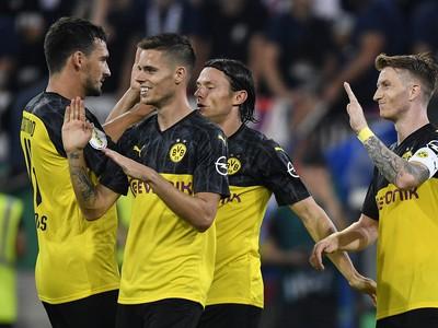 Borussia Dortmund zvládla prvú