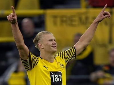 Útočník Borussie Dortmund Erling