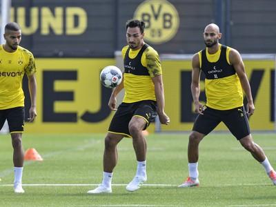 Mats Hummels počas tréningu