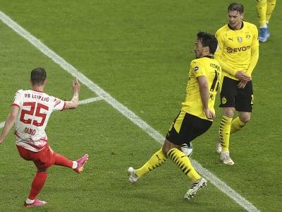 Daniel Olmo dáva gól