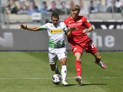 Momentka zo zápasu Borussia