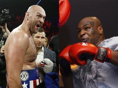 Tyson Fury verzus Mike