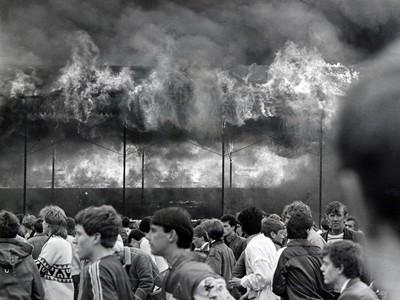 Požiar na štadióne Valley