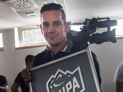 Branko Radivojevič si prevzal cenu SIHPA