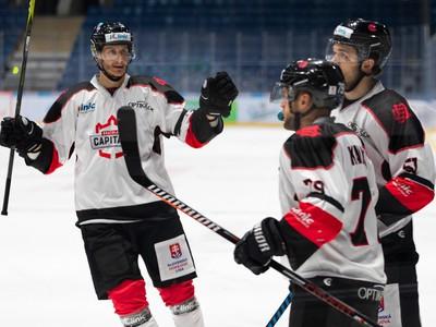 Hokejisti Bratislava Capitals sa