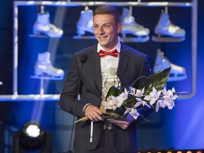 Atlét Ján Volko si prevzal cenu za 4. miesto v kategórii Jednotlivci