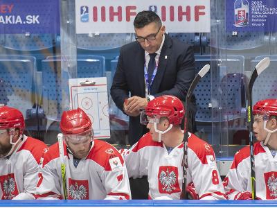 Slovenský tréner Róbert Kaláber