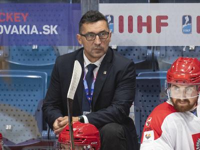 Tréner poľských hokejistov Slovák Robert Kaláber