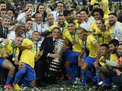 Víťazný tím Copa América
