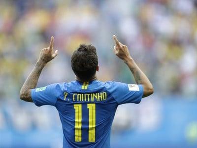 Coutinho sa raduje z víťazného gólu