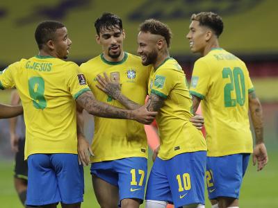 Neymar oslavuje gól so