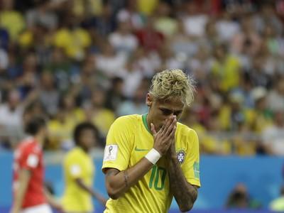 Sklamaný Neymar