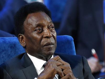 Brazílska futbalová legenda Pelé