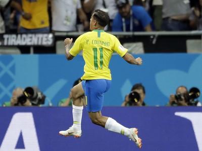 Philippe Coutinho sa teší