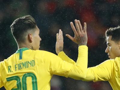 Philippe Coutinho a Roberto