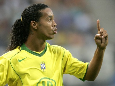 Loptový kúzelník Ronaldinho bavil
