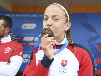 Slovenská reprezentantka v rýchlostnej