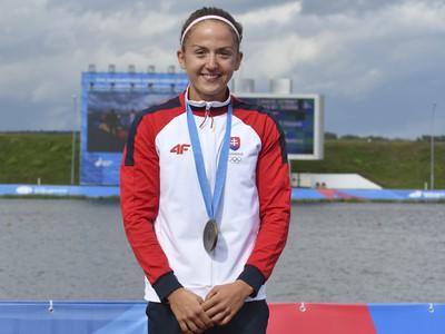 Slovenská reprezentantka v rýchlostnej kanoistike Mariana Petrušová získala bronz v K1 na 5000 m