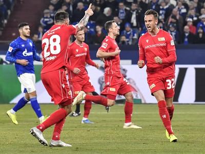 Marcus Ingvartsen oslavuje strelený gól