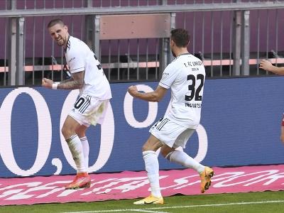 Marcus Ingvartsen a jeho gólové oslavy
