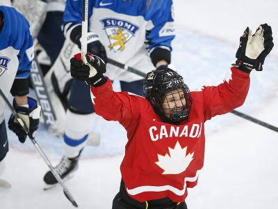 Kanadská hokejistka Jamie Rattrayová