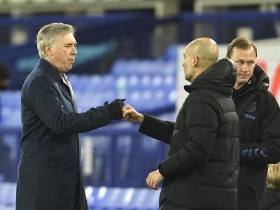 Carlo Ancelotti a Josep Guardiola