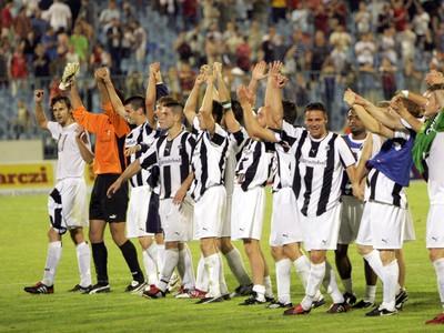 Radosť bratislavského futbalového tímu