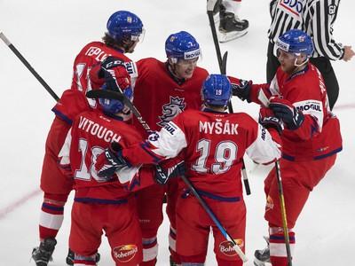 Gólová radosť hokejistov Česka