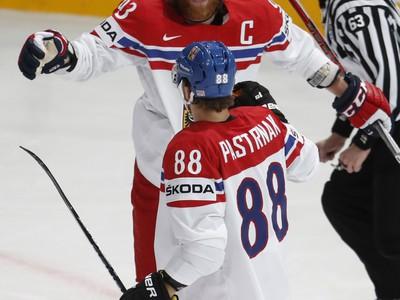 Český hokejista David Pastrňák