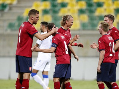 Radosť futbalistov Česka